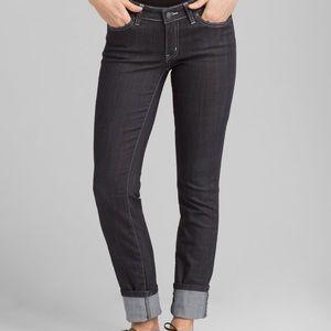 PrAna Grey Straight Leg Jeans sz 2/26